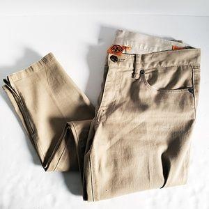 Tory Burch Izzy Zip Ankle Skinny Jeans - Size 30